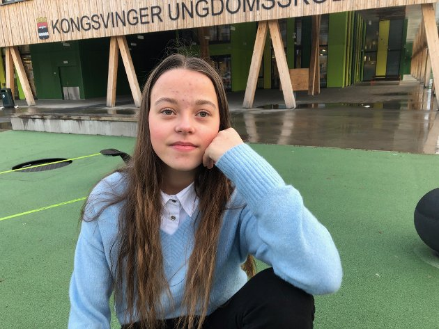 GLEDE: Hun har alltid likt å hjelpe, Karianne Moen-Pedersen. FOTO: SIGMUND FOSSEN