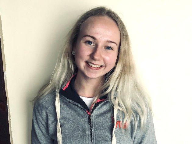 """FRAMTID: Leder for Ungdomsrådet i Nord-Fron, Kristin Grøthe, vil ha mer oppmerksomhet på helsestasjonstilbud for ungdom. """"Det kan gjøre det lettere å være ung i Gudbrandsdalen"""", mener hun."""