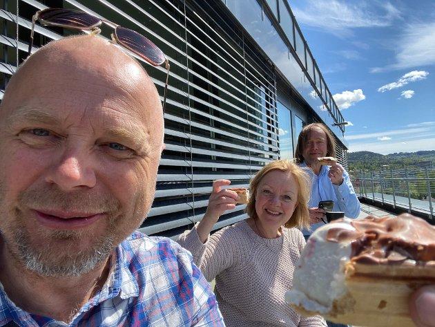 STATENS VEGVESEN: God mat gir godt humør på arbeidsplassen, i Vegvesenet, og andre steder, skriver Per Kollstad.