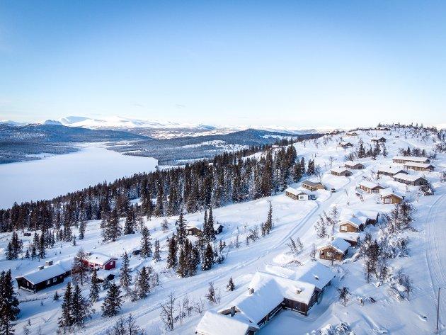 Bøygen, hyttefelt på Gålå.
