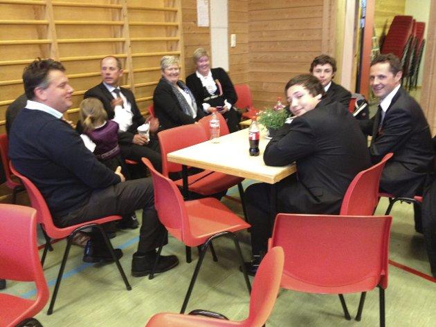 17.MAI-FEIRING: På Bjørklund skole.