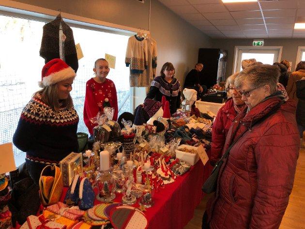 Julemarked på Frøystad.