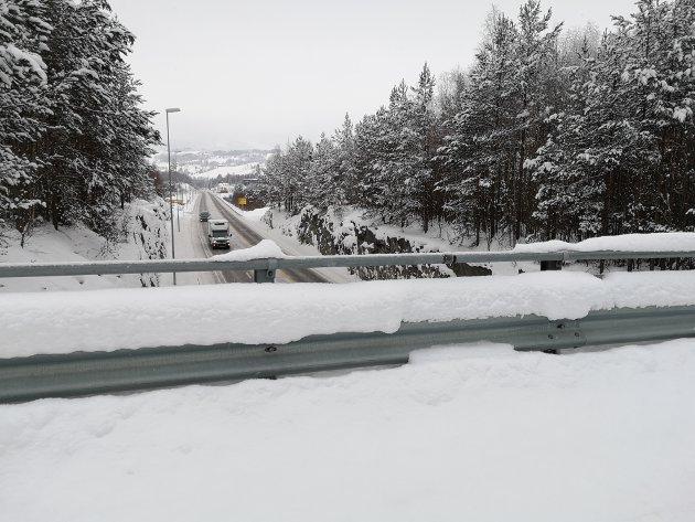 NORD FOR MOHAGEN: Steinerud bru ligger rett nord for avkjøringen til Mohagen.