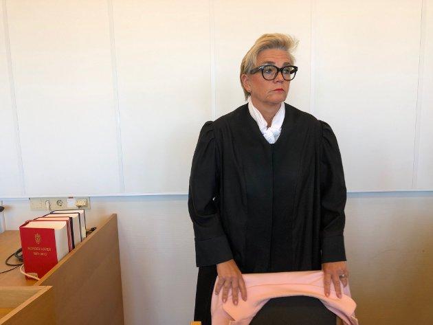 FORSVARER: Advokat Gunhild Lærum må konstatere at hennes klient er dømt til mange år i fengsel.