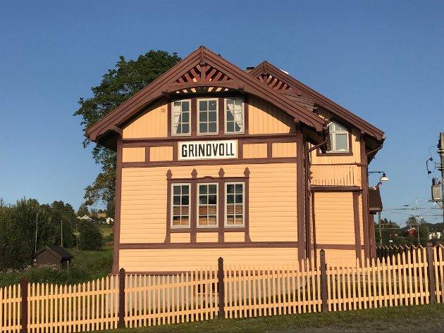 Grindvoll stasjon – en flott stasjon.