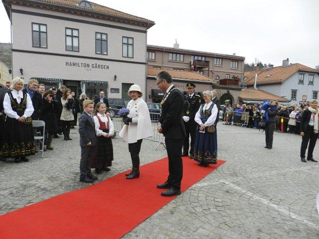 EN FESTDAG! Per Kristian Dahl er svært begeistret for måten Haldens 350 årsdag ble gjennomført på.