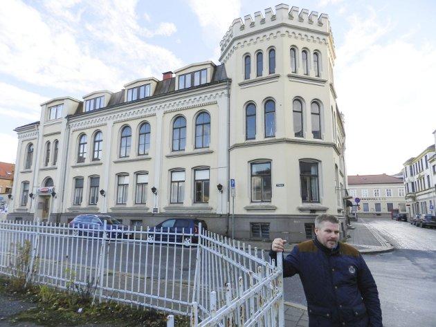Skjebne: Dan Levi Berg-Nilsen sier han vil bygge boliger hvis politikerne ikke sier ja neste uke.