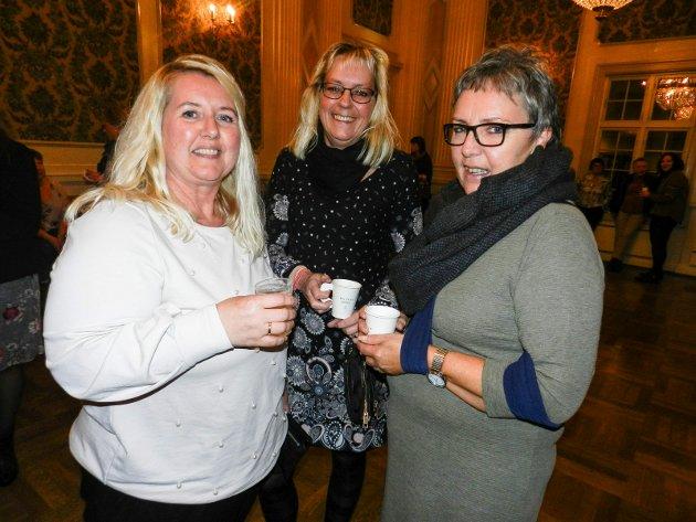 Rita Otte /fv), Kirsti Andresen og Lise Nilsen.