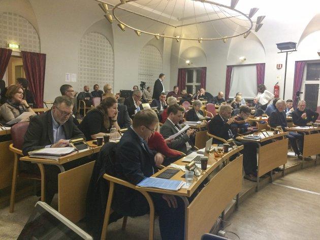 SA NEI: Kommunestyret i Halden sa enstemmig nei til region Viken. Likevel har regjeringen ledet av Høyre forslått å legge ned Østfold fylkeskommune, skriver Arve Sigmundstad.