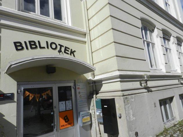 Bygg i forfall: Storsenteret er et bygg med betraktelig bedre forutsetninger for moderne bibliotekdrift enn det gutteskolen kan tilby, mener Ingela Nøding. Arkivfoto: Hanne Eriksen