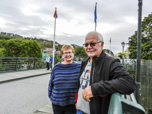 UENIGE: Også HA er uenig med Øyvind Gloslie og Inger Marit Sverresen, men vil slett ikke tie dem i hjel.