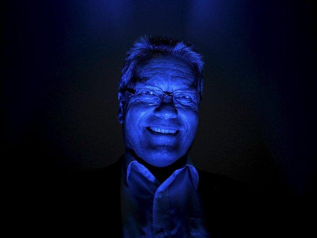 Blått: Thor Edquist og Høyre farget Halden blå i 2015. Klarer de det igjen?