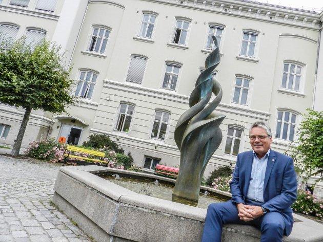 Fire nye år: Thor Edquist ønsker å være ordfører i Halden i enda fire nye år.