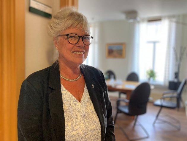 Anne-Kari Holm, ordfører i Halden kommune.