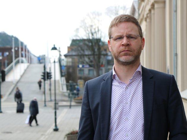 Urovekkende: Kommunedirektør Kent-Arne Andreassen har en rekrutteringsutfordring. Foto: HA