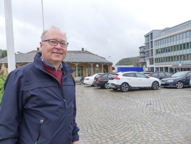 Kommenterer: Morten Ulekleiv kommenterer Jens Bakkes betraktninger om utviklingen på torget. Arkivfoto: Morten Paulsen