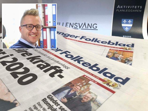 VIKTIG ROLLE: Eg veit at Hardanger Folkeblad kjem til å spela ei viktig rolle i den nye storkommune og vi skal gjera vårt beste anten det gjeld nyheits – og informasjonsformidling, underhaldning eller bidra til å behalda eit godt språk, skriv redaktør Eivind Dahle Sjåstad.