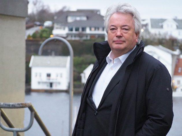 Thor Otto Lohne, styreleder Rutebåten Utsira AS