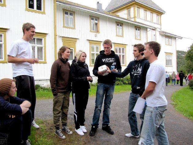 Skolestart på Vefsn Folkehøgskole, 2010.