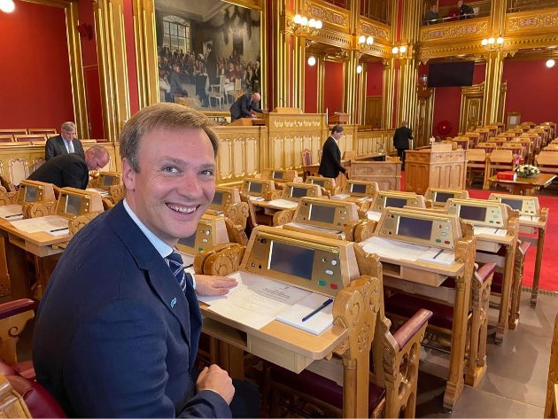 EPOKESKIFTE: Ludvig Thorheim, stortingsrepresentant for NordlandHøyre, skriver om regjeringsskiftet. Foto: Privat