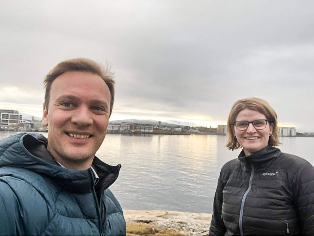 Bård Ludvig Thorheim og Marianne Dobak Kvensjø