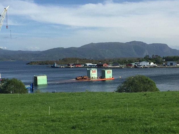 Snuhavna på vei til Hamnbukt i Porsanger