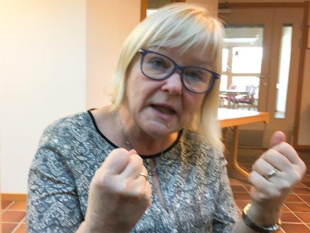 KRITISK: Ingalill Olsen mener det må gjøres noe med Finnmarksloven.