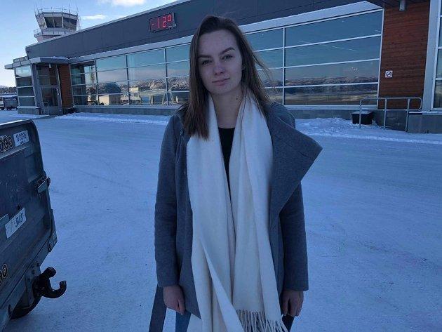 Andrine Klausen Simonsen er likestillings- og inkluderingsansvarlig AUF i Finnmark.