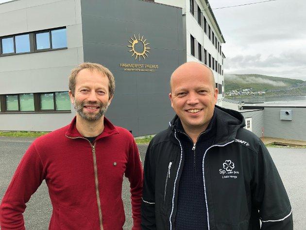 Populisme: Senterpartiets lovnader om akuttsykehus og fødeavdeling i Alta som ikke skal gå utover Hammerfest, står ikke til troende. Dette kan ikke Trygve Slgasvold Vedum tro på selv engang.