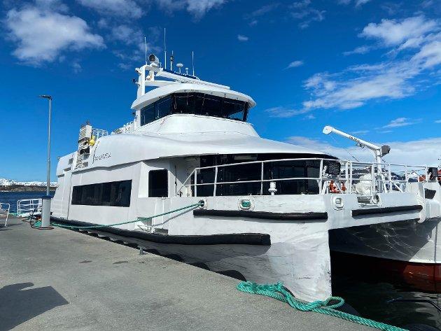 Artikkelforfatter mener det er dumt at flere hurtigbåter skal kuttes fra neste års budsjett.