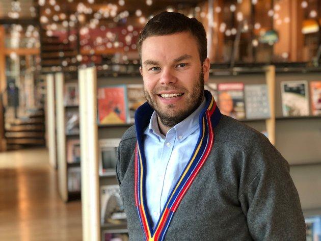Mikkel Eskil Mikkelsen, sametingsråd.