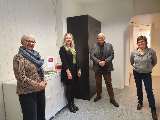 ANSATTE: Ansatte i Nasjonalforeningen Trøndelag