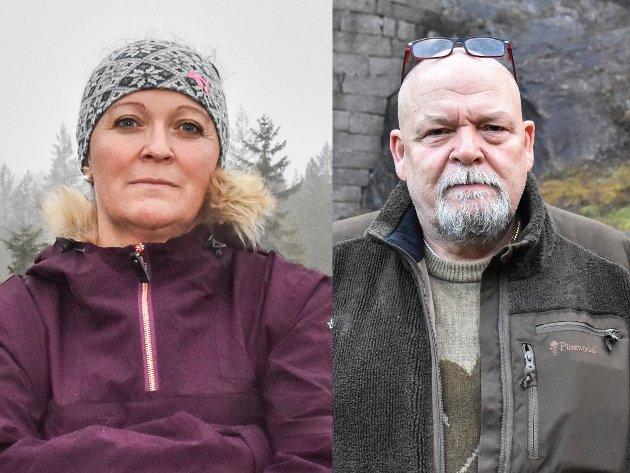 VIL FELLE ULV: Kommunestyrerepresentant Eline Hestsveen (Sp) og varaordfører Geir H. Olsen (Sp).