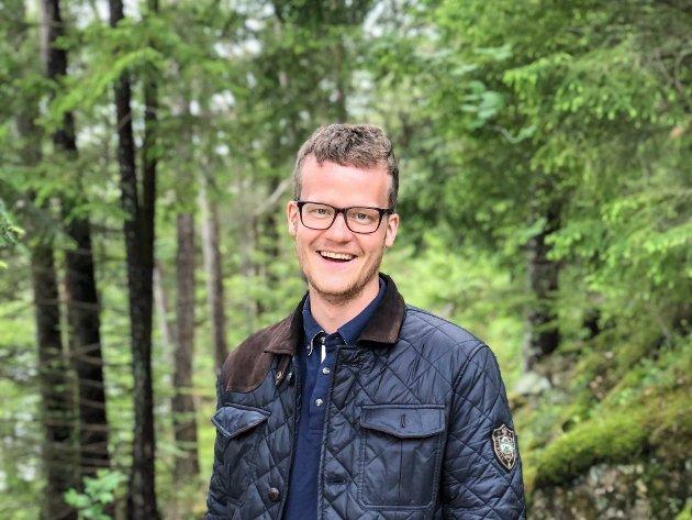 UTFORDRER: Jan Torgeir Hetland Salte fra Bryne står på 15. plass på forslaget fra nominasjonskomiteen. Nå utfordrer han Ulrikke Torgersen (23), som av en enstemmig nominasjonskomité er innstilt på førsteplassen på partiets liste til stortingsvalget neste år.