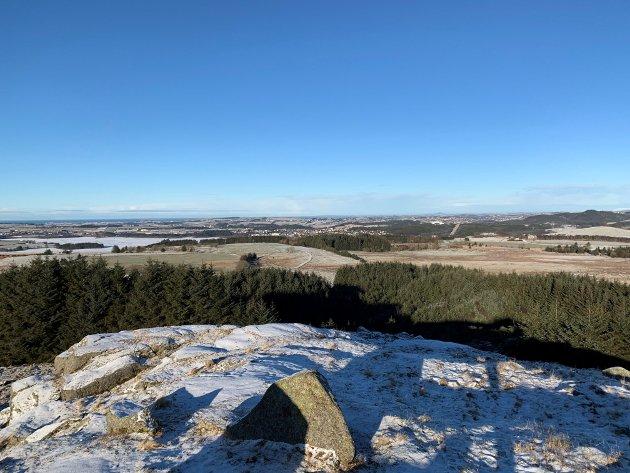 Utsikt fra Håfjell