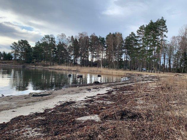 Friområdet Dunholmen i Færder: Et område ervervet av den gang Nøtterøy kommune. Slike områder koster mye, penger som kommunene ikke har.