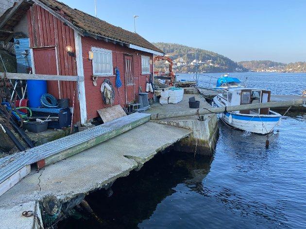 - Politikerne vil gi Tollefsen tillatelse til nesten alt, men Thore Thoresen på Furuholmen fikk nei flere ganger til å bygge ut en liten sjøbu, skriver forfatteren av leserbrevet.