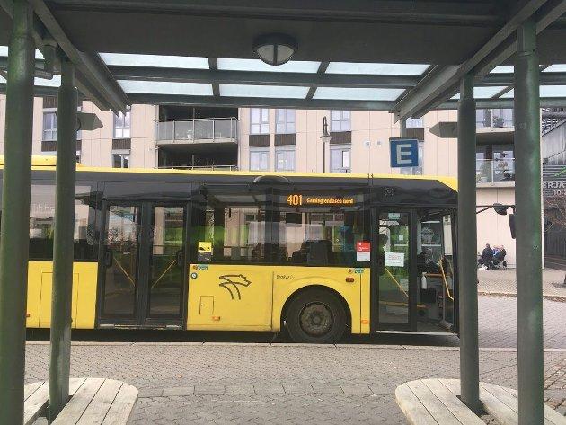 Bussen som ikke skal gå!