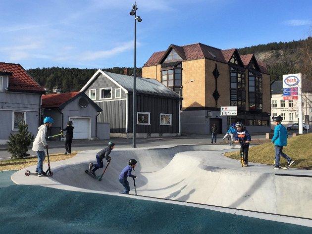 I Drammen etablerte man i 2017 skatepark i betong rett over veien for et større antall boenheter. I stedenfor klager på støy mottok de Drammen bys Byggeskikkpris i 2017.