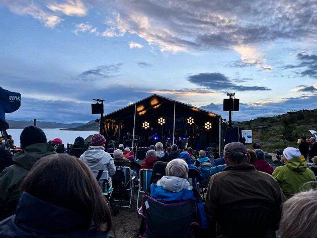 Vakker skue på Imingfjellfestivalen.