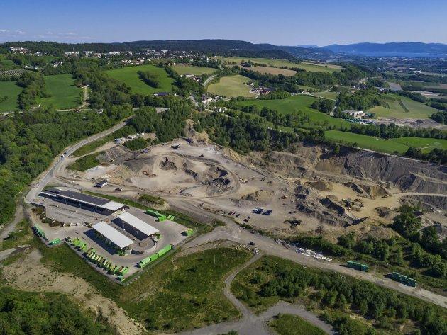 TAR OPP STENA-SAKEN: Flere partier ønsker ny debatt om etableringen av Stena-anlegget på Lyngås.