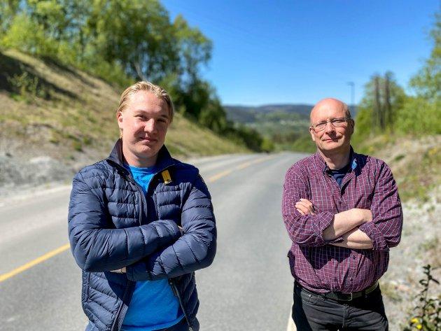 Stena Lyngås, f.v. Carl William Nordby og Lars Haugen