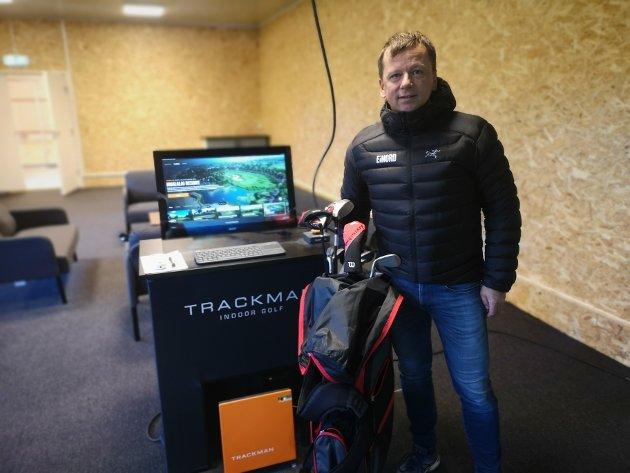 Fornøyd: Leder for eiendom og investeringer i E i Nord, Tommy Wårheim Seim, håper det nye tilbudet blir populært.