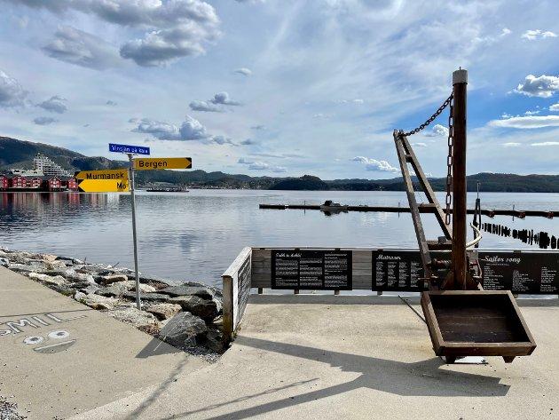 En klinekasse ved Vinsjan på kaia i Namsos eller på Klompen, ville vært en bedre hyllest til D.D.E. enn en bauta på Festplassen, mener NAs sjefredaktør Kim Riseth.