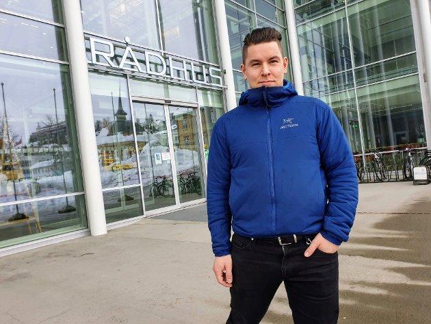 Peter Krogseng Magnussen, Fylkesleder Liberalistene Troms og Finnmark, Tromsø