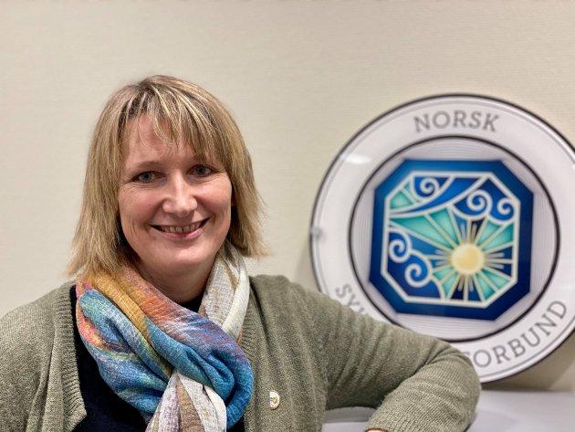 Lena Røsæg Olsen, fylkesleder i Norsk sykepleierforbund Troms og Finnmark.