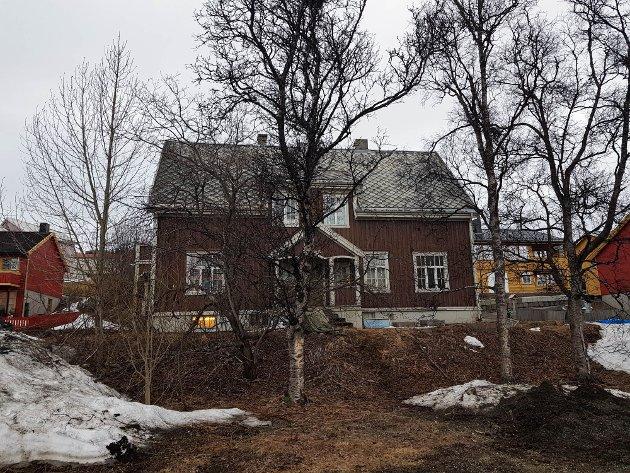 Den gamle direktørboligen i Muségata 4 er også sentral i planene til Kunstens Hus.