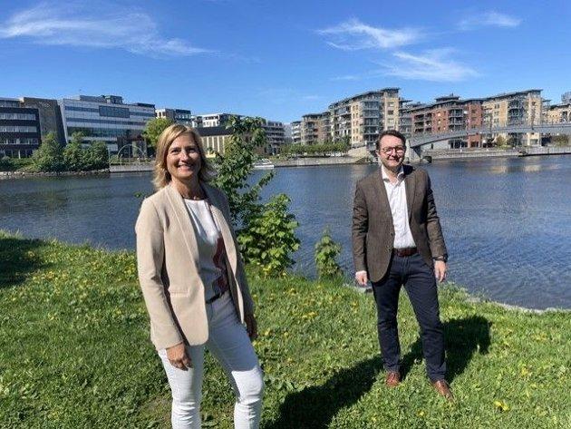 Jorunn Ekornåsvåg, Manpower og Anders Stensrud Larsen, Adecco