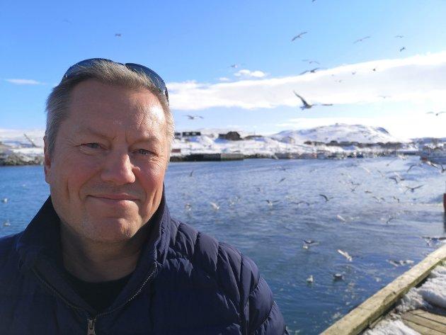 Ronald Wærnes, ordfører i Fiskerihovedstaden Båtsfjord.