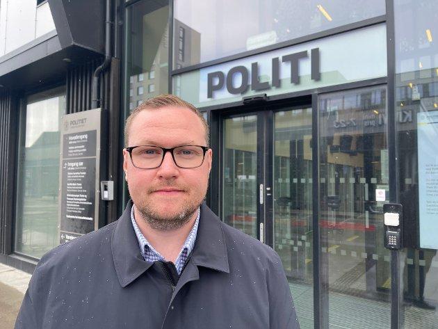 Høyre vil innføre en gylden regel for politiet, som skal sørge for at det skal være dobbelt så stor bemanningsvekst i politidistriktene, enn i sentrale funksjoner og ledelse, skriver Erlend Svardal Bøe.